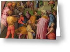 Joseph Sold To Potiphar Greeting Card
