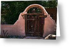 Josephinas Gate Greeting Card