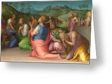 Joseph's Brothers Beg For Help Greeting Card