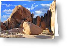 Joshua Tree Anomoly Greeting Card