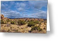 Joshua Tree National Park Indian Cove Rocks Greeting Card