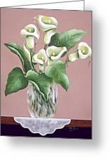 Josies Lilies Greeting Card