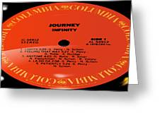 Journey - Infinity Side 1 Greeting Card