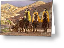 Journey Of The Magi Greeting Card