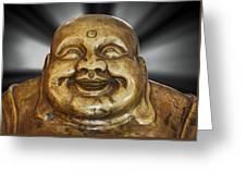 Jovial Buddha Greeting Card