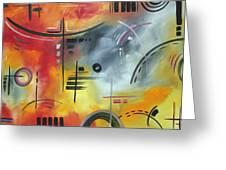 Joy And Happiness By Madart Greeting Card