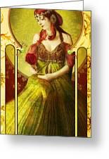 Joy Faith Hope Love Iv Greeting Card
