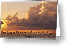 Joy Of The Angels Greeting Card
