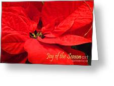 Joy Of The Season Greeting Card