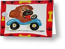Joy Ride Greeting Card