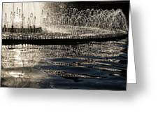 Joyful Sunny Splashes Greeting Card