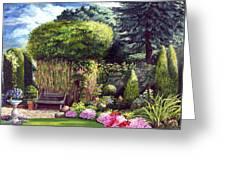 Joy's Garden Greeting Card