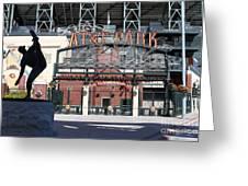 Juan Marichal At San Francisco Att Park . 7d7640 Greeting Card by Wingsdomain Art and Photography