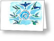 Juanita Jean Greeting Card