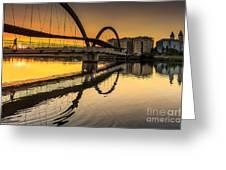 Jubia Bridge Naron Galicia Spain Greeting Card