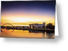 Jubia River Naron Galicia Spain Greeting Card