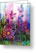 Jubilant Greeting Card by Robin Mead