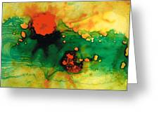 Jubilee - Abstract Art By Sharon Cummings Greeting Card