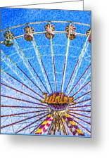 Jubilee Ferris Wheel Greeting Card