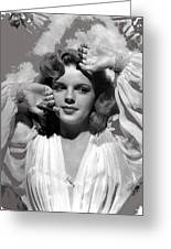 Judy Garland Mgm Publicity Photo Presenting Lily Mars Clarence Sinclair Bull Photo 1943-2014 Greeting Card