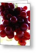 Juicy Grapes Greeting Card