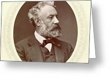 Jules Verne (1828-1905) Greeting Card