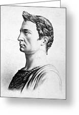 Julius Caesar (100-44 B Greeting Card