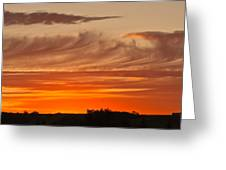 July 4th Sunset Greeting Card