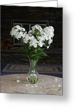 July Bouquet Greeting Card