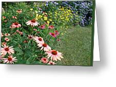July Garden Greeting Card