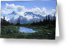 Jumbo Pass Pond Greeting Card