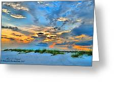 June 2013 Nwfl Sunset I Greeting Card