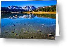 June Lake California Greeting Card by Scott McGuire