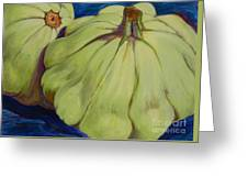 Junee's Squashes Greeting Card
