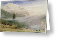 Jungfrau, 1913 Greeting Card by Albert Goodwin