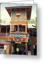 Jungle Cruise Adventureland Disneyland Greeting Card
