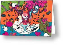 Jungle Fever 5 Greeting Card