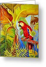 Jungle Flame Greeting Card