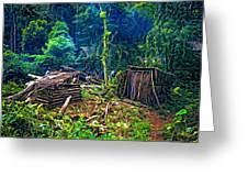 Jungle Homestead Greeting Card