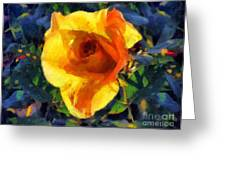 Jungle Rose Greeting Card