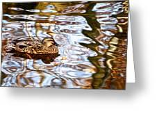 Jungle Water Greeting Card