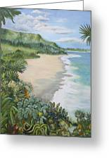 Jungle Waves Greeting Card