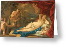 Jupiter And Antiope Greeting Card