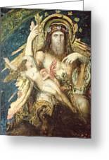 Jupiter And Semele  Greeting Card
