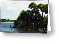 Jupiter Florida Shores Greeting Card
