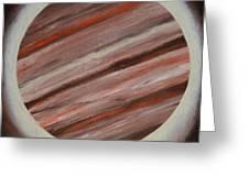 Jupiter Spectral Greeting Card