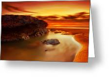 Jupiter Sunrise Greeting Card by Mark Leader