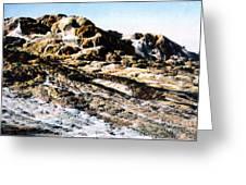 Jupiter Terrace Yellowstone Np 1928 Greeting Card