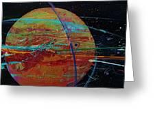 Jupiterlicious Greeting Card by Chris Cloud