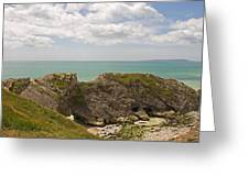 Jurassic Coast At Lulworth Greeting Card